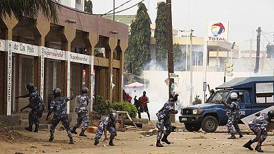 Togo : cinq blessés par balle dans des heurts à Lomé