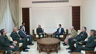 رییس ستاد کل نیروهای مسلح ایران در دمشق؛ دیدار با بشار اسد و مقامات بلندپایه