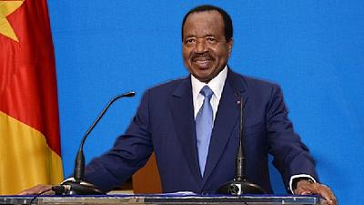 Cameroon president preaches patriotism amid Anglophone crisis