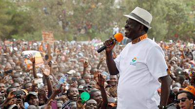 L'opposition kényane menace de perturber la présidentielle du 26 octobre
