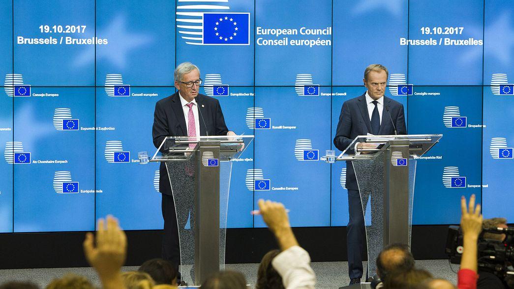 Europa apoya a Rajoy en la crisis catalana