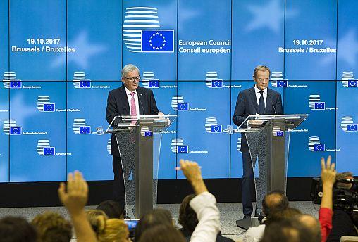 Líderes europeus do lado de Rajoy e não falam de mediação