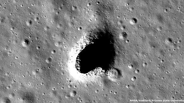 Espace : bientôt une base lunaire dans une grotte géante?