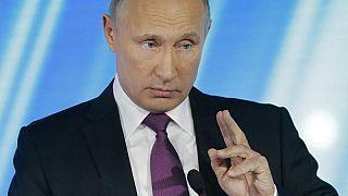 بوتين يتهم واشنطن بمحاولة اخراج روسيا من أسواق الطاقة الأوروبية