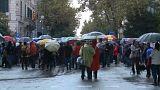 Concentración en Barcelona para pedir la excarcelación de los 'Jordis'