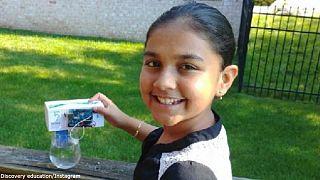 دختر ۱۱ ساله برترین دانشمند جوان آمریکا شد