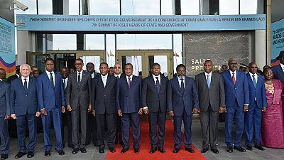 Le Président Joseph Kabila au 7ème sommet de la CIRGL — Brazza