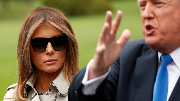 Sosyal medyada Melania Trump dublör kullanıyor tartışması