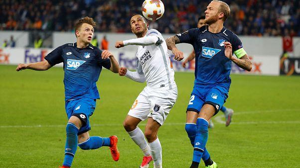 Başakşehir Avrupa Ligi'nde Hoffenheim'a 3-1 yenildi