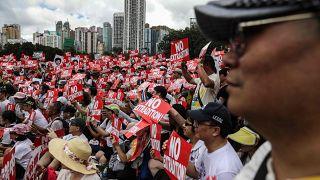 Image: HONG KONG-CHINA-POLITICS-EXTRADITION-PROTEST