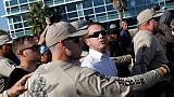 Protests as white nationalist speaks at University of Florida