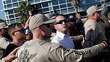 Florida: suprematista Spencer contestato da manifestanti