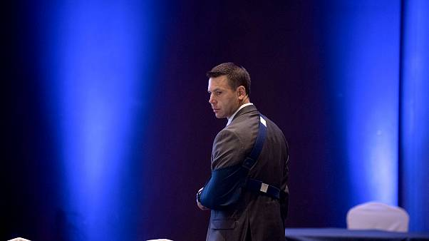 Image: Acting Homeland Security Secretary Kevin McAleenan arrives to a meet