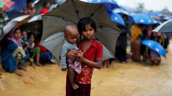 BM: 340 bin Arakanlı çocuk tehlike altında