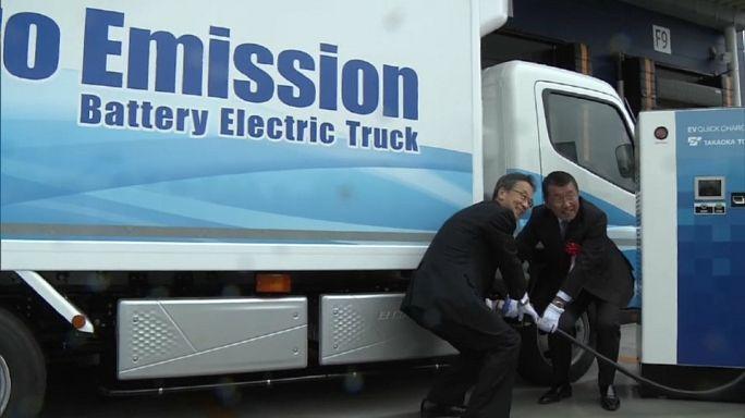 Tokyo: arriva il camion elettrico per le consegne in città