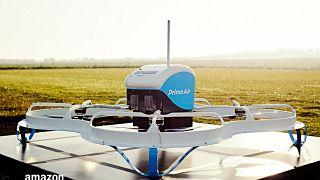 Amazon elektrikli araçları seyir halindeyken drone ile şarj edecek