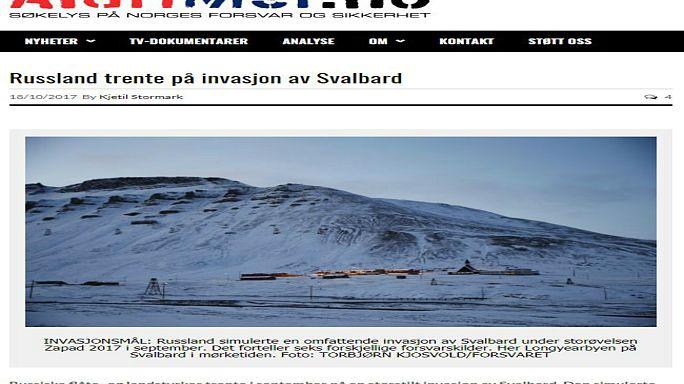 War Games: Norvegia in crisi per una finta invasione russa