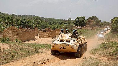 Centrafrique : des Casques bleus se déploient dans une localité du sud-est théâtre de violences