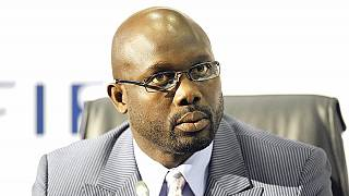Weah supporters celebrate official presidential election lead