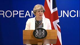 Brexit : Theresa May se veut rassurante