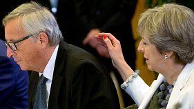 Premio de consolación para la primera ministra británica Theresa May