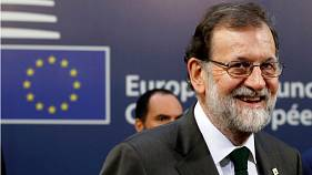 "Mariano Rajoy calls Catalonia crisis ""unacceptable"" during press conference"