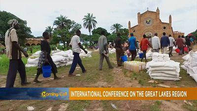 DRC, CAR crises top talks at 'Great Lakes' summit [The Morning Call]