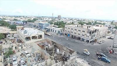 Somalia to erect memorial wall along renamed bomb blast street