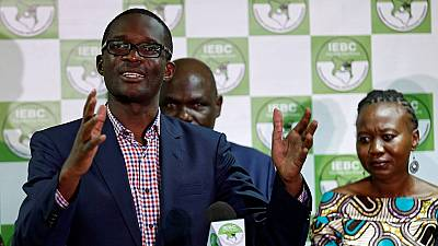 Kenya's electoral commission CEO goes on leave amid calls for his sack