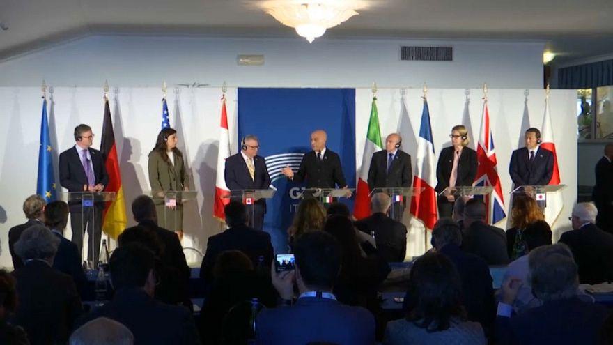 G7 : stopper la propagande terroriste sur internet