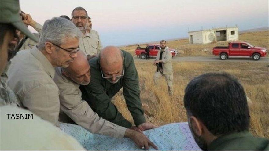 فرمانده نیروهای مسلح ایران از جبهه حلب بازدید کرد