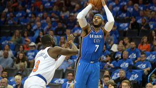 NBA : les débuts réussis de Carmelo Anthony
