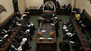 Zimbabwe MPs display rare unity during protest against unpaid allowances