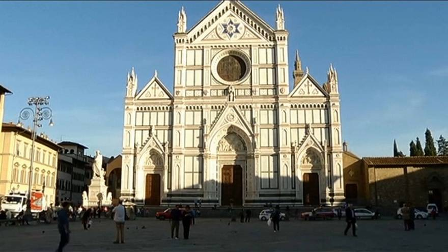 Florenz: Tourist von Stein in Kirche erschlagen