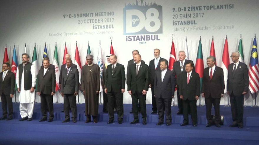 Türkiye D8 Zirvesi'ne ev sahipliği yapıyor