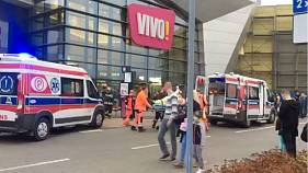 Knife attack in Polish shopping centre leaves one dead and seven injured