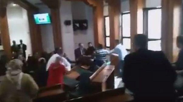 مواجهات عنيفة بين العدالة والتنمية والأصالة والمعاصرة في مجلس مدينة الرباط
