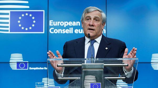 "Presidente do Parlamento Europeu à Euronews: ""conflito na Catalunha é problema interno espanhol"""