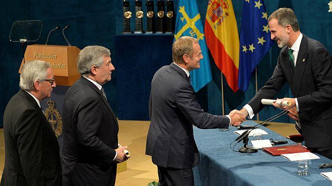 El rey, a la 'reconquista' de la unidad española en los Premios Princesa de Asturias