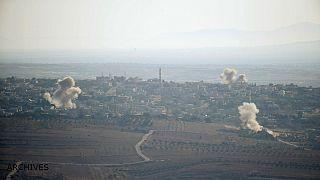 اسرائیل مواضع ارتش سوریه در بلندیهای جولان را بمباران کرد
