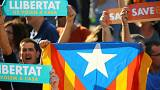 En directo: El gobierno de Cataluña acude a la manifestación en Barcelona, tras conocerse las medidas del artículo 155