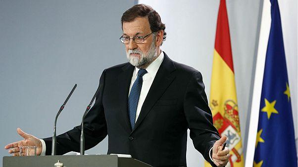 Madrid propone la destituzione del presidente catalano e del suo governo
