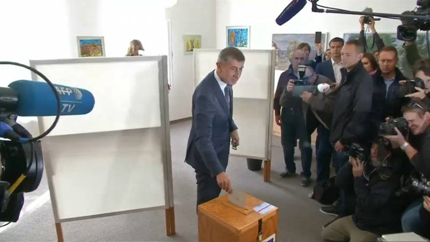 Big election lead for Czech billionaire Babis - results projection
