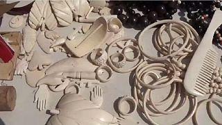 Burundi: des bijoux et accessoires faits à base d'os de vache