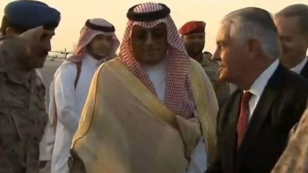 تیلرسون بار دیگر به عربستان سعودی سفر کرد
