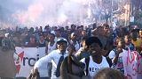 Manifestação contra o racismo em Roma