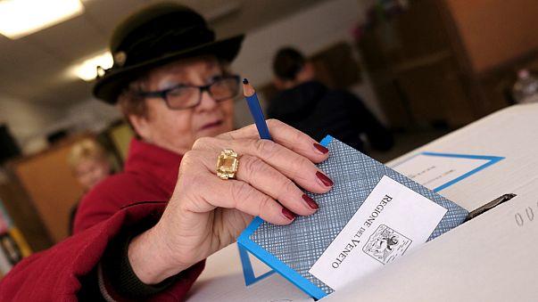 Italy: Lombardy and Veneto regions vote on autonomy