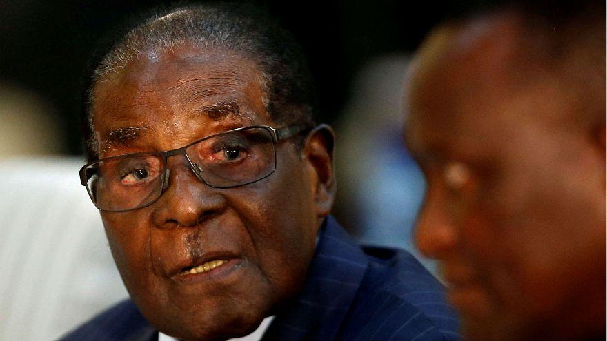 Nach heftiger Kritik: Robert Mugabe wird doch nicht WHO-Sonderbotschafter