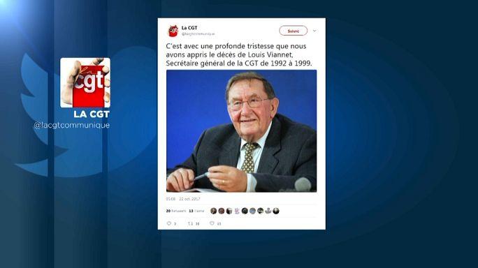 Décès de Louis Viannet, ancien leader de la CGT