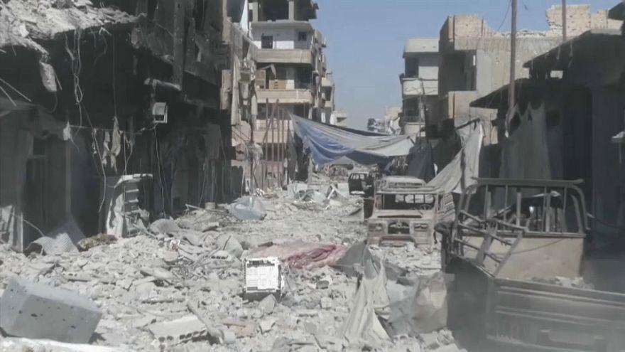 Raqqa bombing was 'barbaric' - Russia